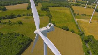 drone éolienne